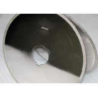 High strength abrasives electroplated Diamond Blade /  10 Inch Diamond Sharpening Disc Manufactures