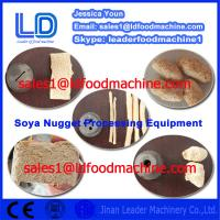 Vegetarian Soya Meat making machine for sale Manufactures