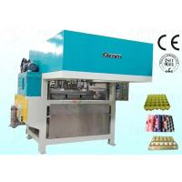 Egg Tray Pulp Moulding Machine Semiautomatic CE Approved 800Pcs / H Manufactures