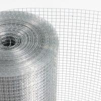 China Silver Color Electro Galvanized Welded Wire Mesh For Construction Industry on sale