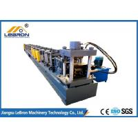 China Easy Maintenance Pallet Rack Roll Forming Machine Making Warehouse Supermaket With Manual Decoiler on sale