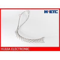 Support Lace Up Hoisting Wire Mesh Grip For 7/8 Inch Feeder Coaxial Cable Socks Hanger Systems Manufactures