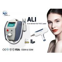 1064nm 532nm Q-Switched Nd Yag Laser Machine For Nail Fungus Removal 500 W Manufactures