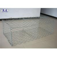 China Zinc Coated Gabion Wall Cages High Security Corrosion Resistance on sale