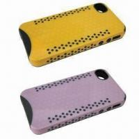 Dual Color PC/TPU Protector Case for iPhone 4G/4S, OEM and ODM Services are Provided Manufactures