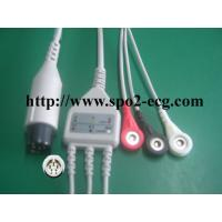 OEM ODM ECG Lead Cable 3 / 5lead AHA IEC LL Style ,1KΩ Resistance Manufactures