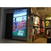 Wall Display Sign Fabric LED Light Box Single Side Custom Sizes For Large Format Manufactures