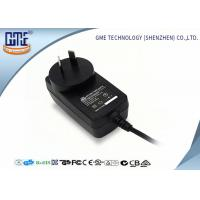 China CEC VI high Efficiency AU Plug Wall Mount Power Adapter 12V 1A For Game Player wholesale