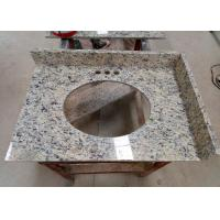 China 22 X 31 High Density Prefab Granite Countertops / Granite Vanity Tops on sale