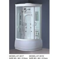China ABS shower stall 800mm Quadrant Shower Enclosures with tray and waste 230V Voltage on sale