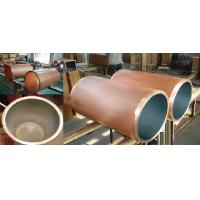 Ceramic Coating Copper Mould Tube For CCM Parabolic Taper Square Type High Withdrawal Speed Manufactures