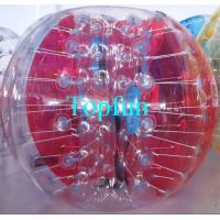 China Colour Inflatable Bumper Ball Human Bubble Soccer Ball Roll In Garden Yard on sale