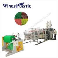 Good Quality PVC Mat Sheet Extrusion Machinery Factory In China Manufactures