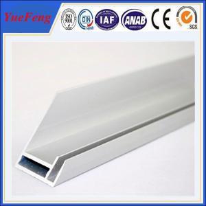 Hot! 6000 series aluminium extrusion profile solar frame extrusion, solar panel aluminium Manufactures