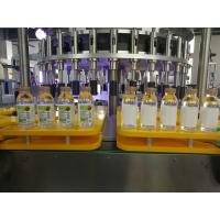 Efficient Bottle Rotary Sticker Labeling Machine Equipment PLC touch screen Manufactures