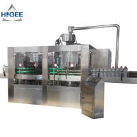 water bottle filling machine PET bottle mineral pure liquid water bottling machine automatic water filling machine 18-18 Manufactures
