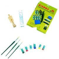 Fine Art Painting Set Art Kits For Teenager Manikin Canvas Panel Included Manufactures