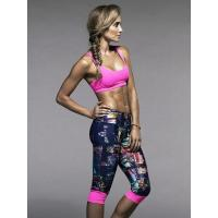 Cropped Tights Workout Capris Womens Yoga Wear Supplex Fitness Clothes Manufactures