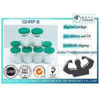 China GHRP6 Human Growth Peptides Steroids Ghrp 6 87616-84-0 for Muscle Gaining on sale