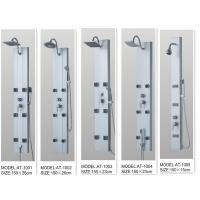 130 X 20 / cm Massage Jets Shower Columns Panels tempered glass  for bathroom Manufactures