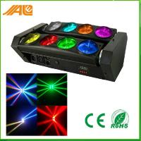 Quality 8pcs 10w Rgbw 4 in 1 Led Spider Beam Moving Head Lights For Disco for sale