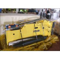 China High Energy Hydraulic Concrete Breaker 155mm Chisel For 30 Ton CASE CX330 CX350 on sale