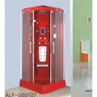 China Red steam shower room ALF-S60107 on sale