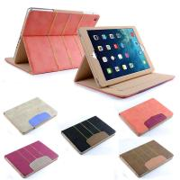 Fashional Waterproof Leather Tablet Case Stand for Apple ipad air / ipad 5