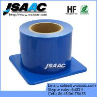 Adhesive edges blue barrier film with dispenser Manufactures