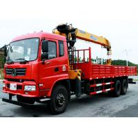 Dongfeng 10Ton Hoisting Truck Mounted with Hydraulic XCMG Straight 4-Arm Telescopic Boom Crane Manufactures