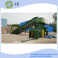 Quality baling machine Hydraulic Vertical Waste Paper Baler Pressing and Strapping Machine for sale