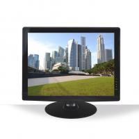 Widescreen AV / VGA Input CCTV Monitor For Surveillance System 17 Inch Manufactures