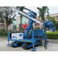 Pipe Shed Engineering  Crawler Drilling rig With Big Arm Anchor hole Manufactures