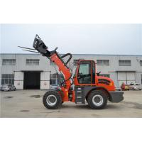China recycling scrap transportation machinery telescopic loader with grapple on sale