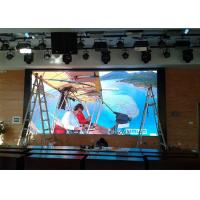 6mm SMD Indoor Advertising LED Display Screen Plug Type 16 Bit Processing Manufactures