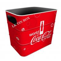 Carslberg Coca Cola Beer Coke Tin Ice Bucket With Printing And Embossing Manufactures