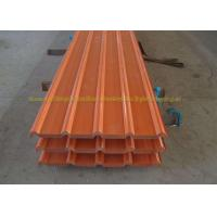 ASTM A755 Galvanized gi Corrugated Metal Roofing Sheets For Walls Roof Manufactures