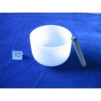 China Classic Feng Shui Frosted singing bowl on sale