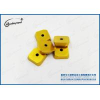 SPCN1504ED Gold Coating Cemented Carbide Cutting Tools For Face Milling Manufactures