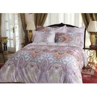 Brushed Sateen Cotton Bedding Sets Reactive Eco-friendly Dye For girls Manufactures