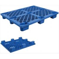 China Reinforced Collapsible Plastic Pallets Recyclable Erosion Resistant on sale