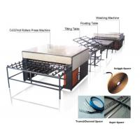 China Double Insulating Glass Production Line / Machine with 5 Pairs Rollers on sale