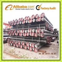 Tianjin ductile iron pipe DN900 Manufactures