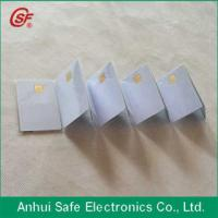 2015 smart glossy coated printable blank inkjet pvc chip card Manufactures