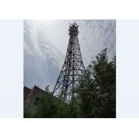 Four Legged  GSM Antenna Tower With Reinforcement Tower Members Manufactures