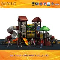LLDPE,Plastic Playground Material outdoor Playground Type plastic playhouse Manufactures