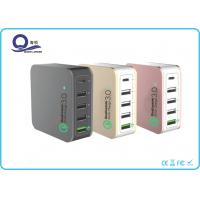 5 Ports 40W Multiple USB Charger , Quacomm Quick Charger with Type - C USB Output Manufactures