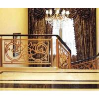 Interior Galvanized Wrought Iron Railing , Cast Iron Railing Home Depot Manufactures