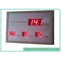 LED Digital Days Display with Electronic Countdown Timer and red light Manufactures