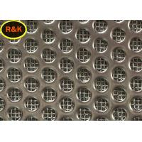 China 316L Sintered Wire Mesh Multi Layer Square Shape Chemical Stability on sale